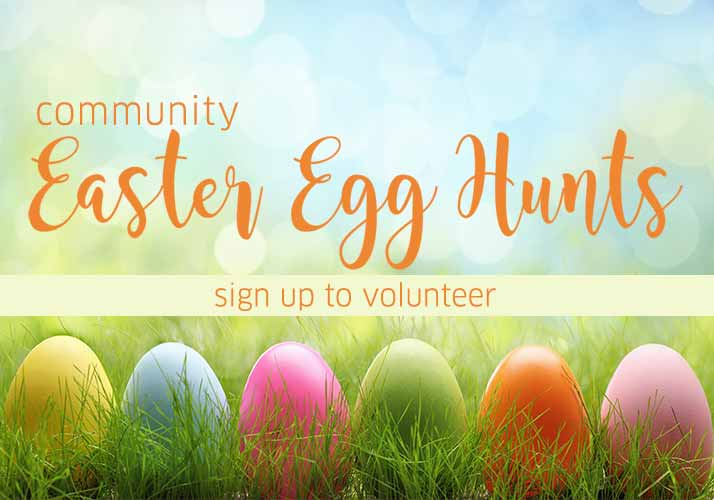 Easter Egg Hunt Volunteer