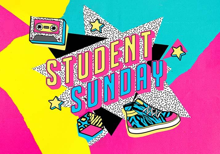 Student Sunday