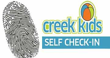 Creek Kids Self Check-in
