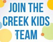 Creek Kids Volunteer
