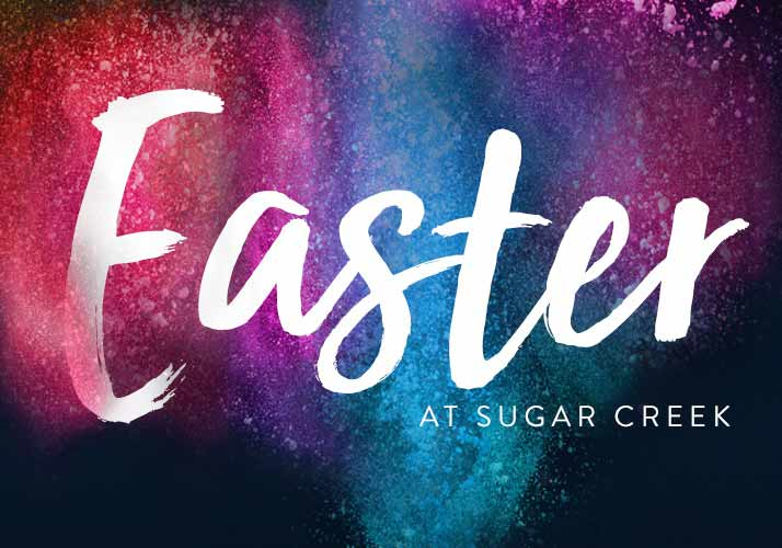 Easter at SUgar Creek