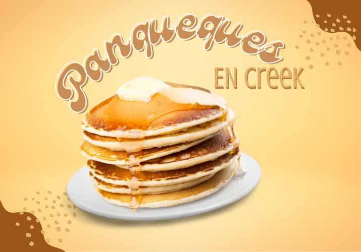 Pancakes at the Creek