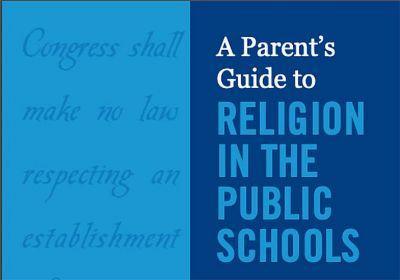 Parent Guide to Religion in Schools