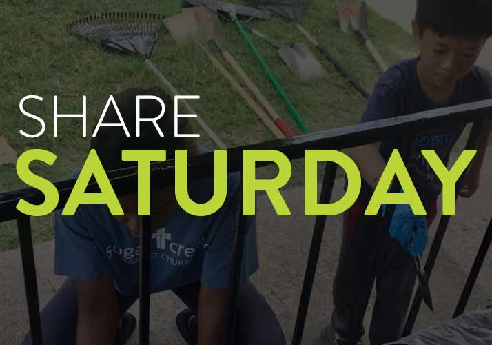 Share Saturday