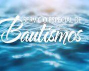 Special Baptism - sp Bautismos
