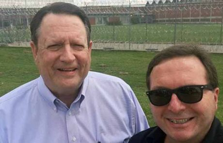 Gary Hill and Don Waybright at Coffield Prison