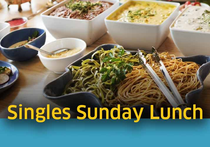 Singles Sunday lunch