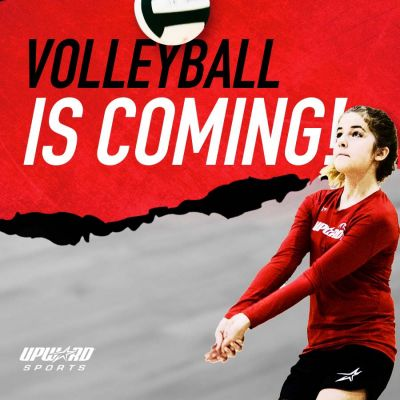 Upward Volleyball is Coming!