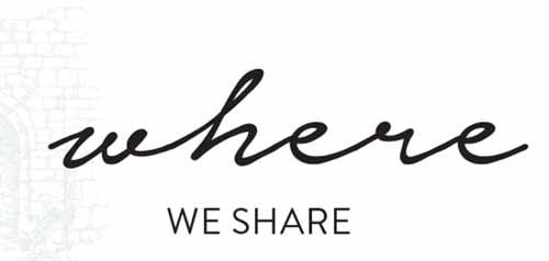 Where we share